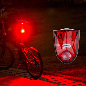 cheap Protective Gear-LED Bike Light Rear Bike Tail Light Safety Light Tail Light Mountain Bike MTB Bicycle Cycling Waterproof Portable Warning Quick Release Rechargeable Lithium-ion Battery 150 lm Red Cycling / Bike -