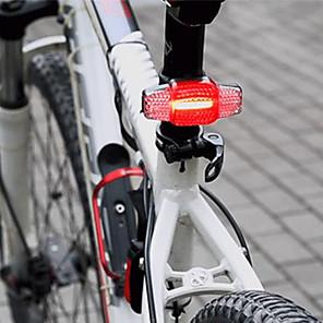 cheap Bike Lights & Reflectors-Laser Bike Light Turn Signal Light Rear Bike Tail Light Safety Light Mountain Bike MTB Bicycle Cycling Waterproof Smart Induction Portable Dust Proof Rechargeable Li-Ion Battery USB 100 lm Cycling