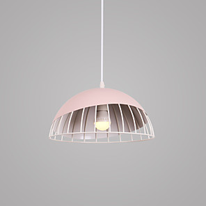 cheap Pendant Lights-1-Light CONTRACTED LED Bowl / Novelty Pendant Light Downlight Painted Finishes Aluminum Creative, New Design, Lovely 110-120V / 220-240V