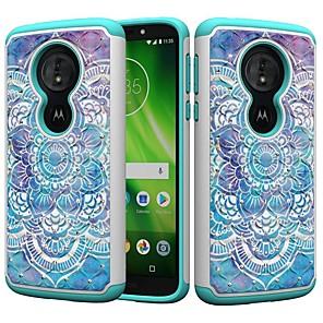 cheap Other Phone Case-Case For Motorola MOTO G6 / Moto G6 Play / Moto E5 Play Shockproof / Rhinestone / Pattern Back Cover Mandala / Rhinestone Hard PC