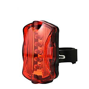 cheap Bike Lights & Reflectors-LED Bike Light Rear Bike Tail Light Safety Light Mountain Bike MTB Bicycle Cycling Waterproof Super Brightest Quick Release Lightweight Li-ion 50 lm AAA Red Camping / Hiking / Caving Cycling / Bike