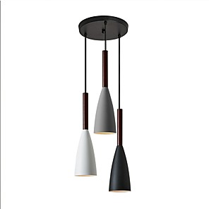 cheap Cluster Design-3-Light 28 cm Creative Pendant Light Metal Novelty Painted Finishes Contemporary / Chic & Modern 110-120V / 220-240V