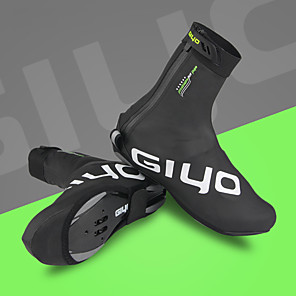 cheap Bike Frames-GIYO Adults' Cycling Shoes Cover / Overshoes Waterproof Windproof Cushioning Cycling / Bike Cycling Shoes Black Men's Cycling Shoes / Ventilation / Ventilation