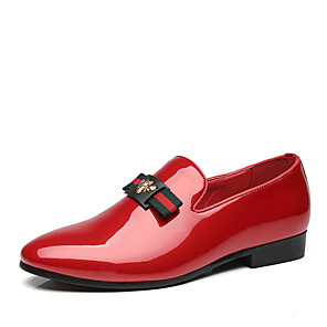 cheap Men's Slip-ons & Loafers-Men's Comfort Shoes Spring & Summer Classic / Casual Party & Evening Office & Career Loafers & Slip-Ons Faux Leather Non-slipping Wear Proof Black / Red / Blue / Tassel / Tassel