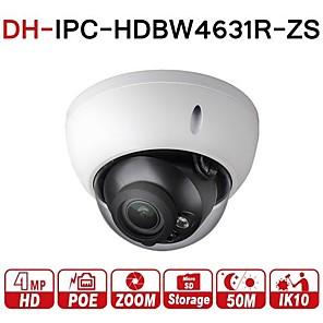 cheap CCTV Cameras-Dahua® IPC-HDBW4631R-ZS 6MP IP Camera CCTV POE Motorized Zoom 2.7-13.5mm 50M IR SD card slot Network Camera H.265 IK10 IP67 Varifocal 5X Optical Zoom Surveillance Security