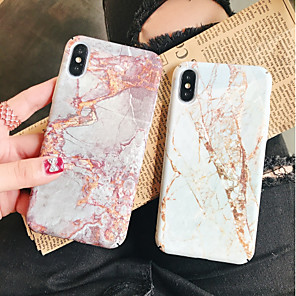 cheap Car Rear View Camera-Case For Apple iPhone XS / iPhone XR / iPhone XS Max Pattern Back Cover Marble Hard PC