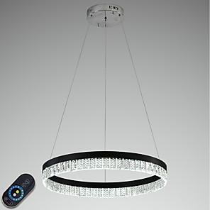 povoljno Dizajn kruga-VALLKIN 60 cm Crystal / Prilagodljiv / Zatamnjen Lusteri Metal Cirkularno Electroplated / Slikano završi LED / Moderna 110-120V / 220-240V