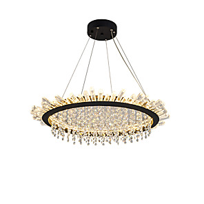 cheap Dimmable Ceiling Lights-OBSESS® 2-Light 60 cm Crystal Chandelier Metal Crystal Painted Finishes Contemporary / LED AC110-240V