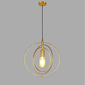 cheap Flush Mounts & Semi Flush Mounts-1-Light Lightinthebox 28 cm Pendant Light Metal Mini Gold Contemporary / Artistic AC100-240V