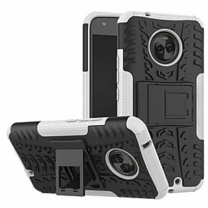 cheap Other Phone Case-Case For Motorola Moto X4 with Stand Back Cover Armor Hard PC
