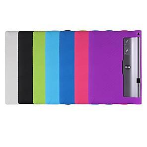 ราคาถูก เคส iPad-Case สำหรับ Lenovo แท็บโยคะ Lenovo 3 Pro / แท็บโยคะ Lenovo 3 Plus 10.1 (YT-X703) Shockproof / Ultra-thin ตัวกระเป๋าเต็ม สีพื้น Soft เจลซิลิก้า