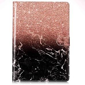 cheap iPad case-Case For Apple iPad Mini 5 / iPad New Air(2019) / iPad Air Card Holder / with Stand / Flip Full Body Cases Marble Hard PU Leather / iPad Pro 10.5 / iPad (2017)
