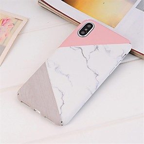cheap Doorbell Systems-Case For Apple iPhone XS / iPhone XR / iPhone XS Max Pattern Back Cover Marble Hard PC