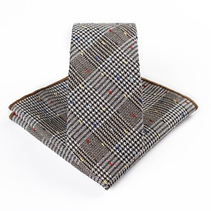 cheap Wedding Gifts-Men's Party / Basic Necktie - Jacquard / Suits