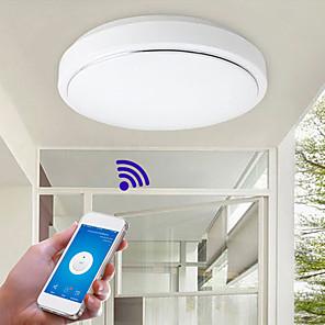 cheap Soundbar Speaker-Modern Wifi LED Ceiling Lamp APP Control Ceiling Light for Living room Family home lighting AC110-240V