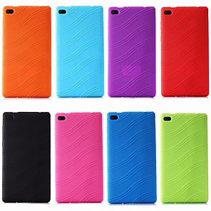cheap Other Phone Case-Case For Lenovo Lenovo Tab 7 Essential / Lenovo Tab 4 7 Essential Shockproof / Ultra-thin Back Cover Solid Colored Soft Silica Gel