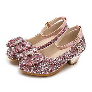 42f95bb503f Girls  Shoes PU(Polyurethane) Spring   Fall Flower Girl Shoes Heels Bowknot