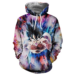 cheap Anime Costumes-Inspired by Dragon Ball Cosplay Cookie Anime Anime Cosplay Costumes Japanese Cosplay Hoodies Anime Other Hoodie For Unisex