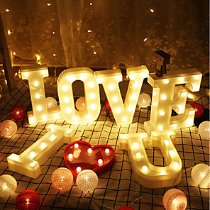 cheap Wedding Decorations-LED Lights PVC(PolyVinyl Chloride) Wedding Decorations Wedding / Party / Evening Creative / Wedding / Vintage Theme All Seasons
