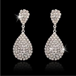 cheap Earrings-Women's Earrings Classic Elegant Earrings Jewelry Silver For Date Festival 1 Pair