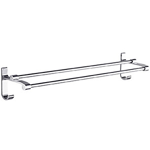 cheap Towel Bars-Towel Bar Creative Contemporary Aluminum 1pc 2-tower bar Wall Mounted
