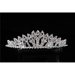 cheap Jewelry Sets-Crystal / Alloy Tiaras / Headdress with Crystal / Crystals 1 Piece Wedding / Party / Evening Headpiece