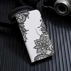 cheap iPhone Cases-Case For Apple iPhone XS / iPhone XR / iPhone XS Max Flip / Pattern Full Body Cases Flower Hard PU Leather