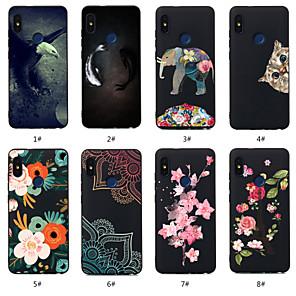 cheap Xiaomi Case-Case For Xiaomi Xiaomi Redmi Note 5A / Xiaomi Redmi Note 5 Pro / Xiaomi Redmi 6 Pro Pattern Back Cover Animal / Flower Soft TPU / Xiaomi Redmi Note 4X / Xiaomi Redmi Note 4