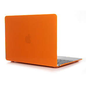 cheap Mac Accessories-MacBook Case for Air Pro Retina 11 12 13 15 Laptop Cover Solid Colored Transparent Crystal PVC Case for Macbook New Pro 13.3 15 inch with Touch Bar