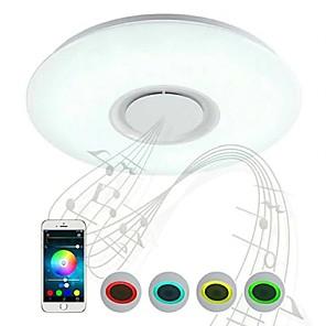 cheap Dimmable Ceiling Lights-1-Light 40 cm Bluetooth Control Flush Mount Lights Plastic LED / Modern 200-240V / FCC