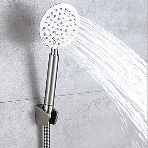 cheap Hand Shower-Contemporary Hand Shower Brushed Feature - Shower, Shower Head