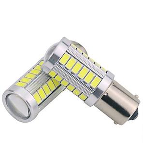 cheap LED Recessed Lights-2pcs 1156 Car Light Bulbs 5 W SMD 5630 300 lm 33 LED Turn Signal Light For General Motors Universal