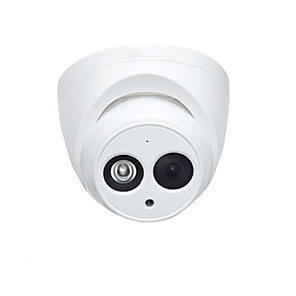 cheap Outdoor IP Network Cameras-Dahua IPC-HDW4631C-A 6MP IP Camera PoE Dome Security Surveillance Camera 2.8mm Lens Built-in Mic Day and Night IR 30m H.265 IP67 Onvif English Firmware Night Vision