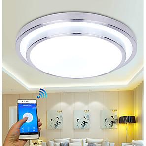 cheap Dimmable Ceiling Lights-35 cm Modern Wifi LED Ceiling Lamp APP control Ceiling Lights for Living room Family home lighting Luminaria AC110-240V