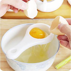 cheap novelty kitchen tools-Economic Egg Separator Holder Sieve Funny Divider Breakfast Tool Spoon