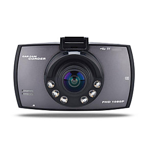 cheap Outdoor IP Network Cameras-720p Car DVR 170 Degree Wide Angle 12.0MP CMOS 2.7 inch TFT LCD monitor Dash Cam with motion detection 6 infrared LEDs Car Recorder