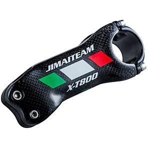 povoljno Ručke i lule volana-31.8 mm Kormilo 17 stupanj 90 mm Carbon Fiber Mala težina Visoke čvrstoće Jednostavna primjena za Biciklizam Sjajni 3K