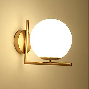 cheap Indoor Wall Lights-Eye Protection / Cute Modern / Contemporary Flush Mount wall Lights Bedroom / Study Room / Office Metal Wall Light 110-120V / 220-240V 40 W