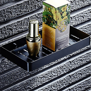 cheap Bathroom Accessory Set-Simple Soap Dishes & Holders Hollow Modern Stainless steel 2pc - Bathroom / Hotel bath Single Wall Mounted