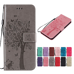 cheap Other Phone Case-Case For Motorola Moto Z / Moto Z Force / Moto X Play Wallet / Card Holder / with Stand Full Body Cases Solid Colored / Tree Hard PU Leather / Moto G5 Plus