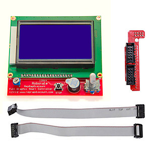 cheap Raspberry Pi-RAMPS1.4 LCD12864 Intelligent Controller