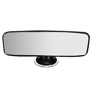 cheap Rear View Monitor-Universal Car Van Truck Wide Flat Interior Rear View Mirror Adjustable Suction