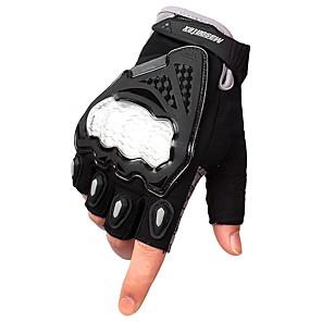 povoljno Motociklističke rukavice-Half-prst Muškarci Moto rukavice Prozračna mrežica Otporno na nošenje / Protective / Ne skliznuti