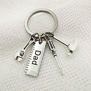 povoljno Svadbeni privjesci za ključeve-Klasični Tema / Kreativan / Vjenčanje Privjesak favorizira nehrđajući Privjesci za ključeve - 1 pcs Sva doba