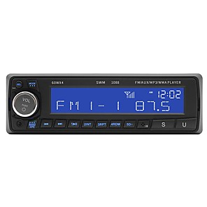 cheap Car DVD Players-SWM SU-10881 ≤3 inch 1 DIN OS Car MP3 Player  / Built-in Bluetooth / SD / USB Support for universal RCA Support MP3 / WMA / WAV JPEG