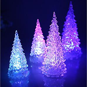 cheap Christmas Decorations-Holiday Decorations Premium Year's / Christmas Decorations Christmas / Christmas Ornaments Cartoon / Party / Decorative crystal 1pc