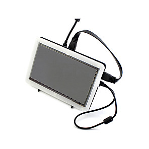 cheap Game Consoles-7inch HDMI LCD (C), 1024×600, IPS, with Bicolor case