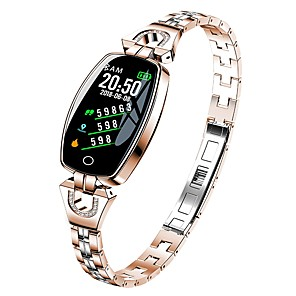 cheap Smartwatches-KUPENG H8 Men Women Smart Bracelet Smartwatch Android iOS Bluetooth Waterproof Touch Screen Heart Rate Monitor Blood Pressure Measurement Sports Pedometer Call Reminder Sleep Tracker Sedentary