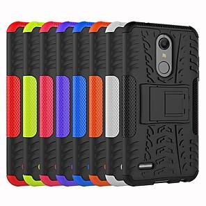 cheap Other Phone Case-Case For LG LG V30 / LG V30+ / LG StyLus 3 Shockproof / with Stand Back Cover Tile / Armor Hard PC / LG G6