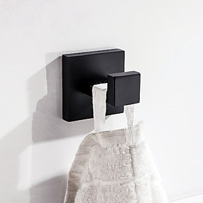 cheap Bathroom Accessory Set-Modern Bathroom Accessory Set / Towel Bar / Robe Hook Premium Design / Cool / Multifunction Contemporary / Antique Stainless steel 2pc - Bathroom Wall Mounted